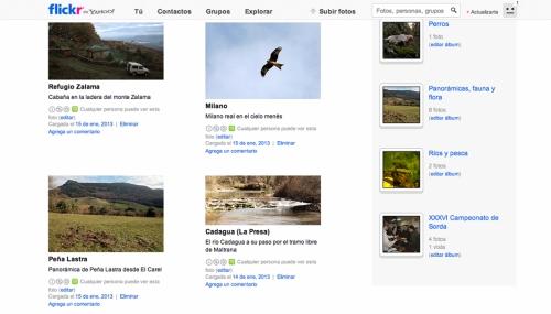 Las fotografías del Club de Caza del Valle de Mena están agrupadas en Flikr