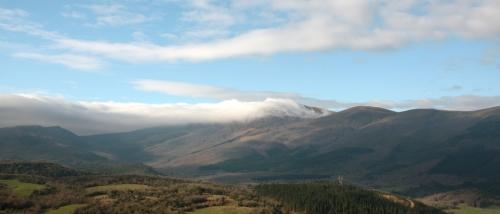 Montes de Ordunte (Zalama) en el coto de caza del Valle de Mena