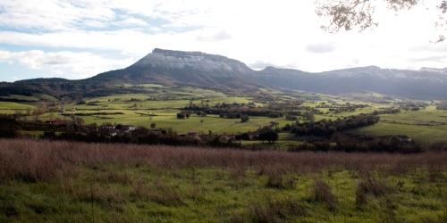 Montes de La Peña, en el coto de caza del Valle de Mena