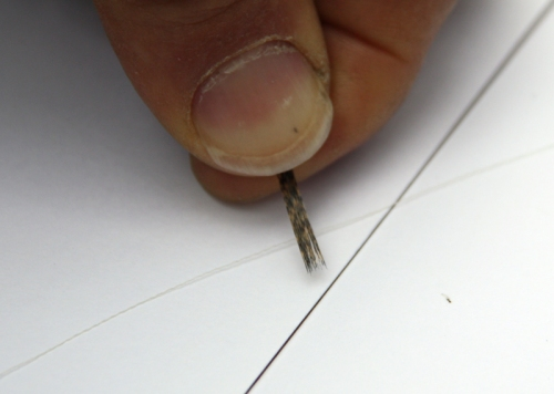 montaje de mosca ahogada